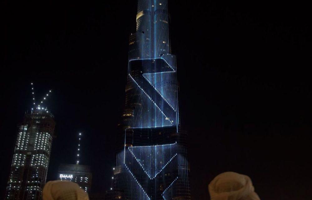 Kia își promovează noul logo în Orientul Mijlociu cu o proiecție LED pe Burj Khalifa - Poza 3
