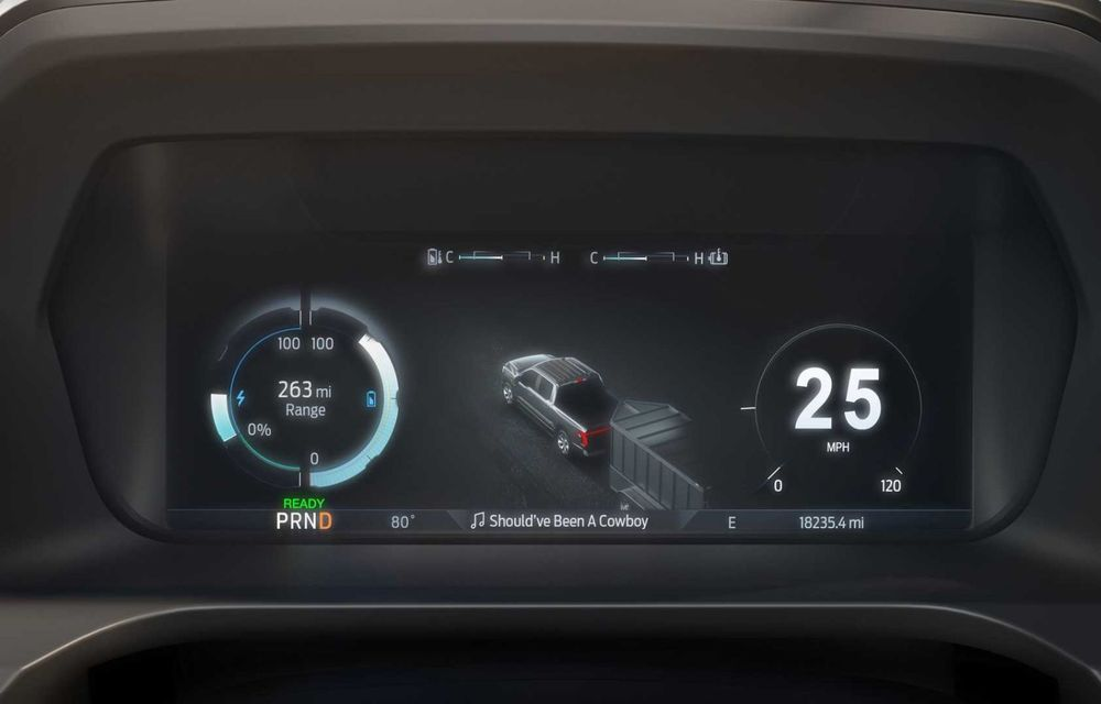 Noul Ford F-150 Lightning: primul pick-up electric din istoria Ford are 482 km autonomie și costă 40.000 dolari - Poza 16
