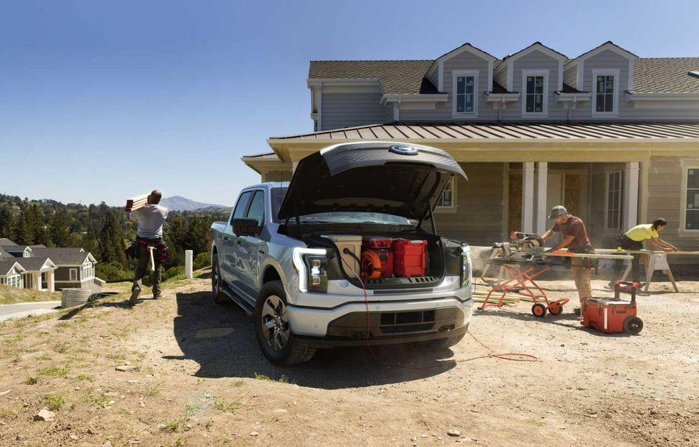 Noul Ford F-150 Lightning: primul pick-up electric din istoria Ford are 482 km autonomie și costă 40.000 dolari - Poza 8