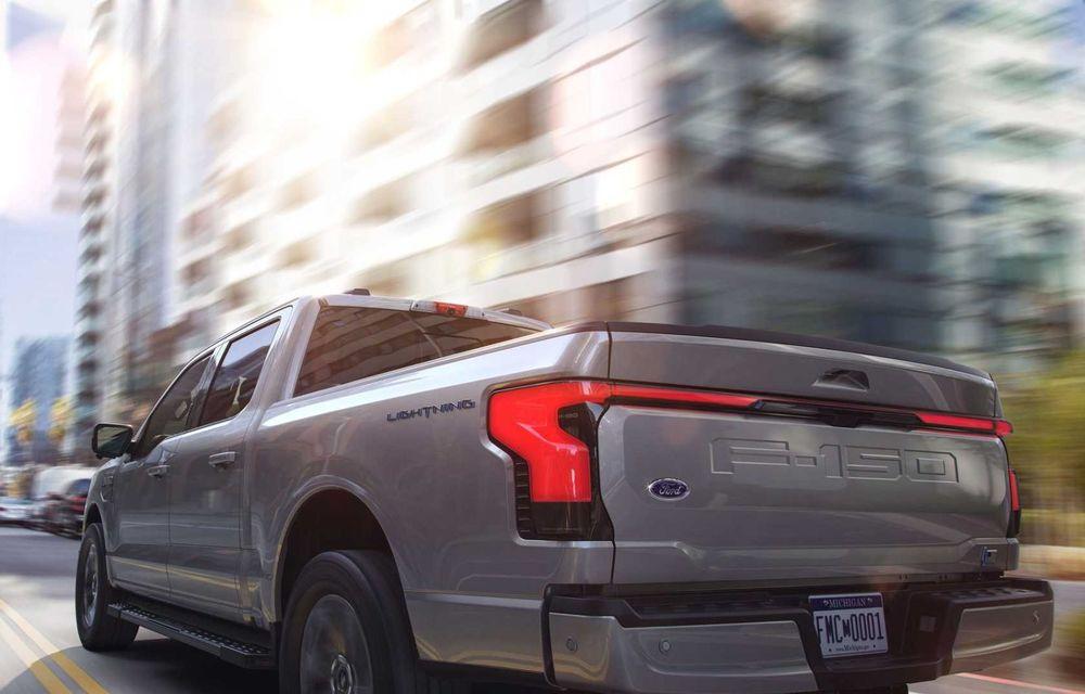 Noul Ford F-150 Lightning: primul pick-up electric din istoria Ford are 482 km autonomie și costă 40.000 dolari - Poza 9