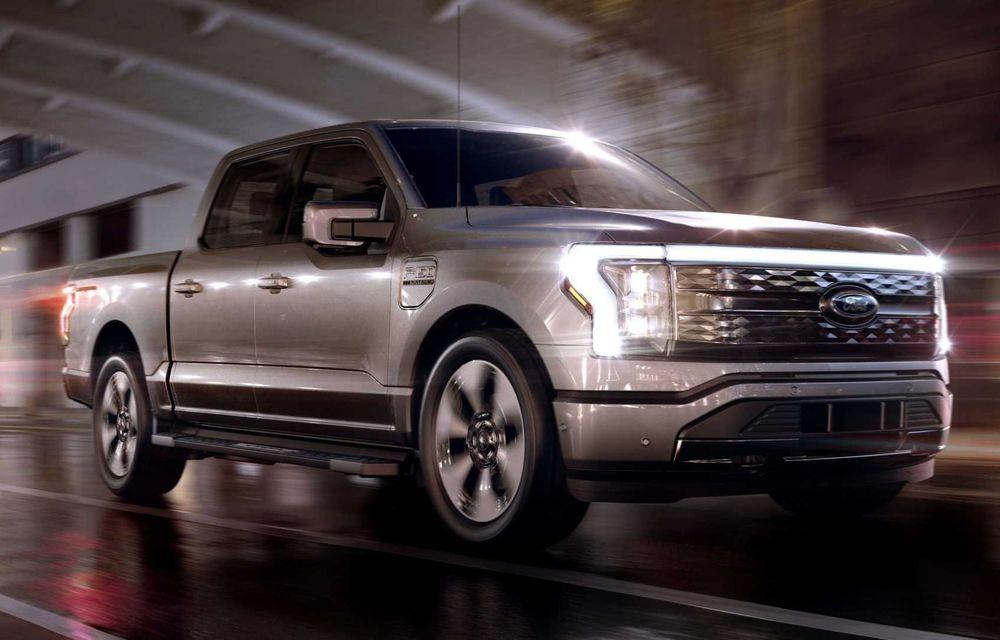 Noul Ford F-150 Lightning: primul pick-up electric din istoria Ford are 482 km autonomie și costă 40.000 dolari - Poza 1