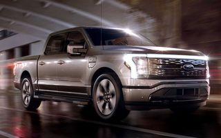 Noul Ford F-150 Lightning: primul pick-up electric din istoria Ford are 482 km autonomie și costă 40.000 dolari