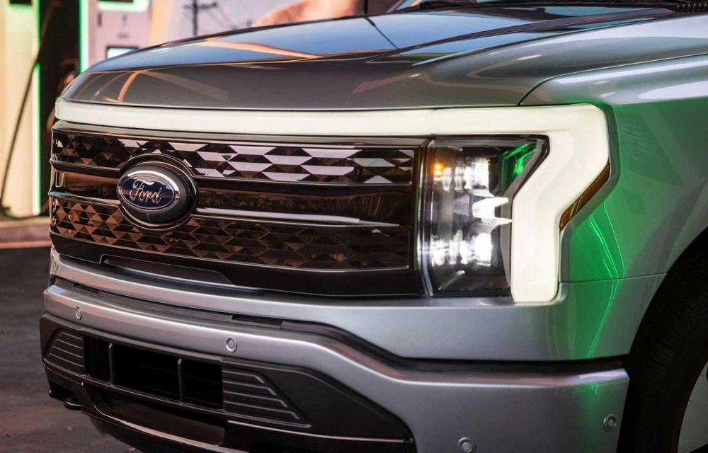 Noul Ford F-150 Lightning: primul pick-up electric din istoria Ford are 482 km autonomie și costă 40.000 dolari - Poza 17