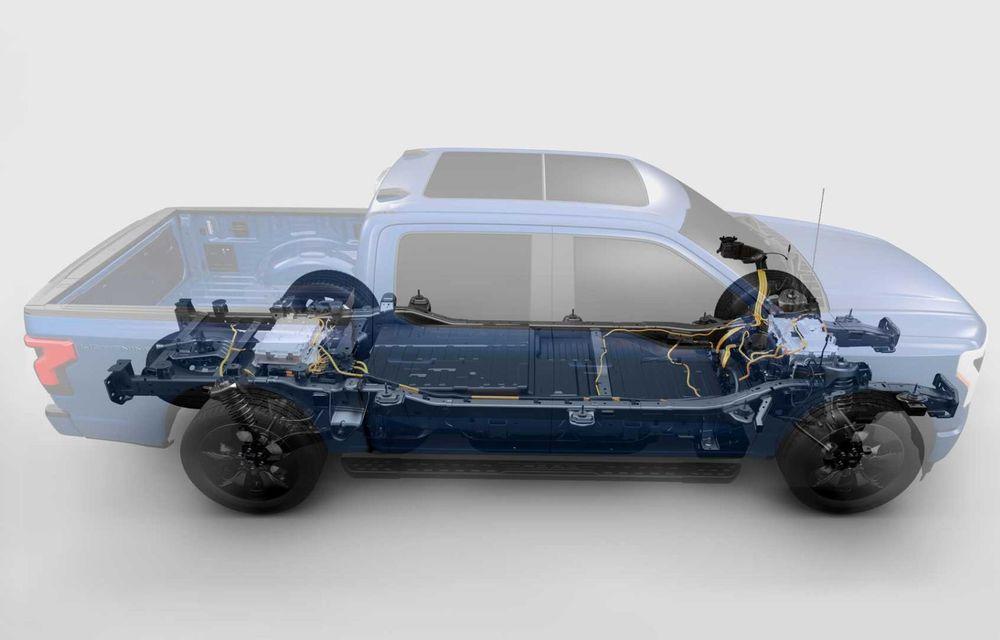 Noul Ford F-150 Lightning: primul pick-up electric din istoria Ford are 482 km autonomie și costă 40.000 dolari - Poza 15
