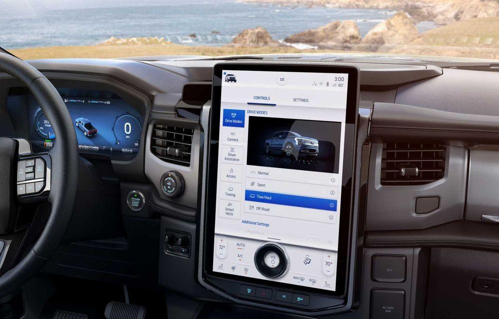 Noul Ford F-150 Lightning: primul pick-up electric din istoria Ford are 482 km autonomie și costă 40.000 dolari - Poza 12
