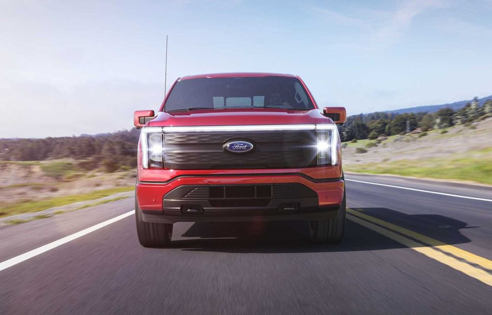 Noul Ford F-150 Lightning: primul pick-up electric din istoria Ford are 482 km autonomie și costă 40.000 dolari - Poza 7