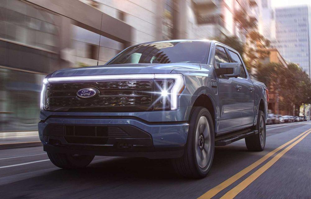 Noul Ford F-150 Lightning: primul pick-up electric din istoria Ford are 482 km autonomie și costă 40.000 dolari - Poza 3