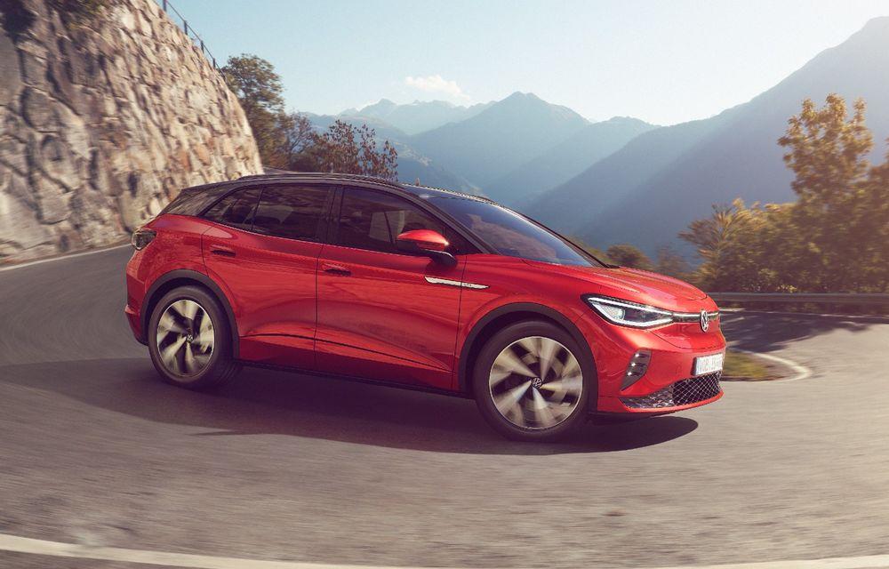 Prețuri Volkswagen ID.4 GTX în România: start de la 52.600 de euro pentru SUV-ul sportiv - Poza 1