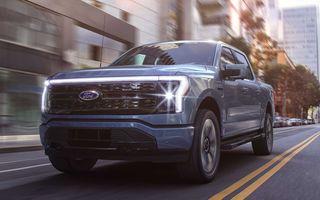 Ford a primit 20.000 de rezervări pentru pick-up-ul electric F-150 Lighting în 12 ore