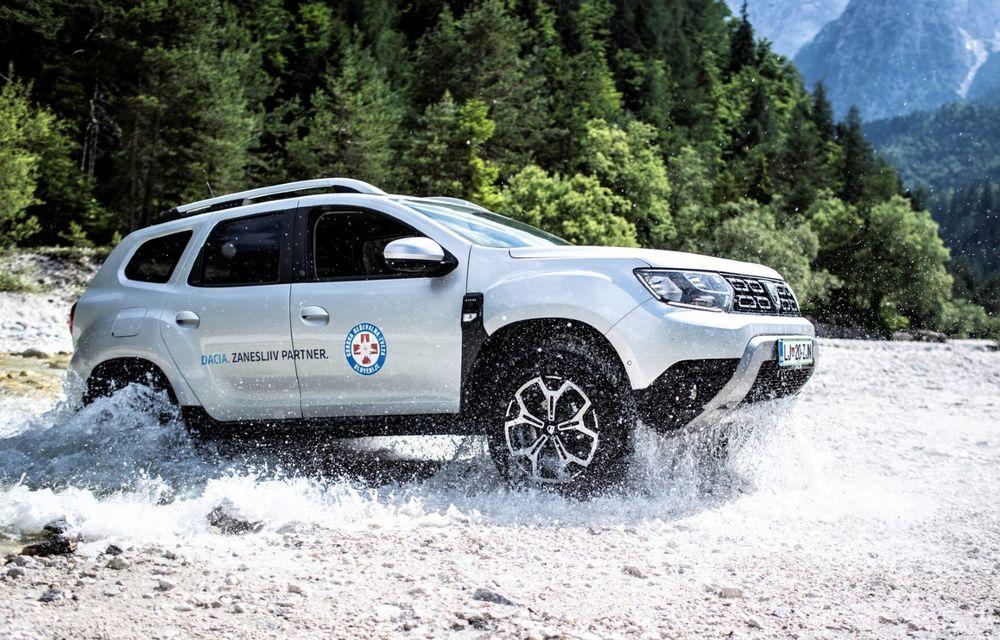 Dacia Duster, folosit pentru misiuni de salvare în Croația, Slovenia și Serbia - Poza 1