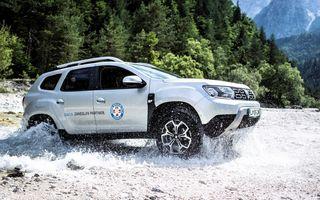 Dacia Duster, folosit pentru misiuni de salvare în Croația, Slovenia și Serbia