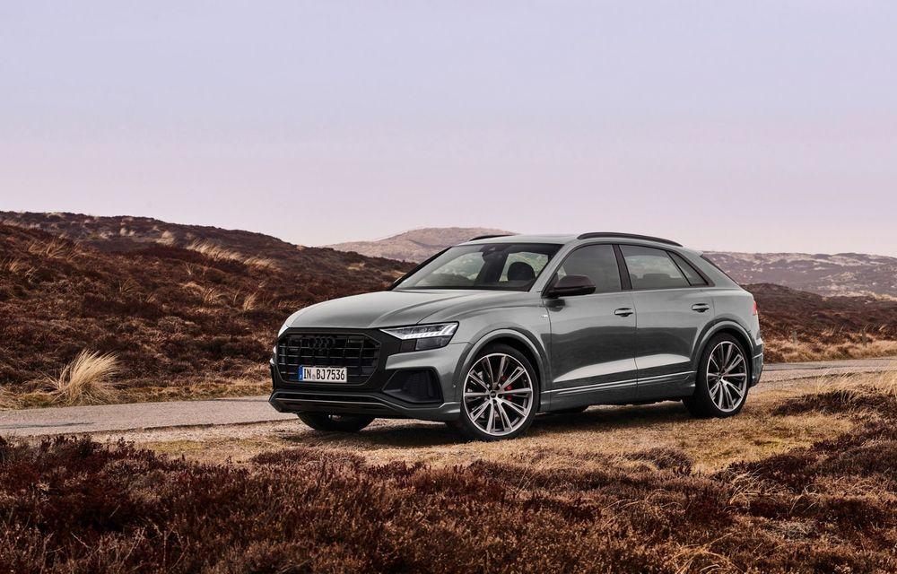 Îmbunătățiri pentru mai multe modele Audi. Q7 și Q8 au primit pachetul Competiton Plus - Poza 6