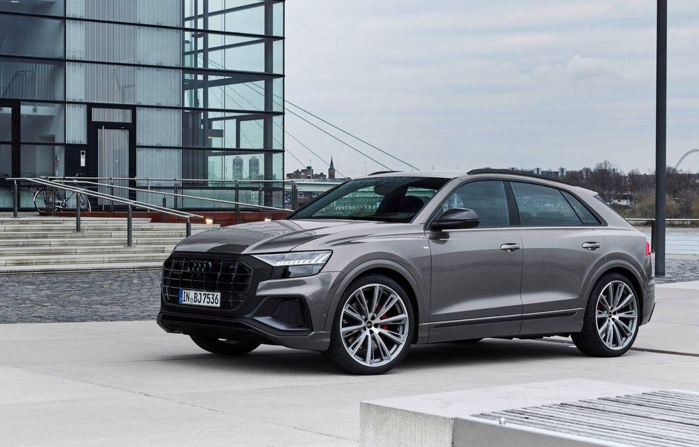 Îmbunătățiri pentru mai multe modele Audi. Q7 și Q8 au primit pachetul Competiton Plus - Poza 4