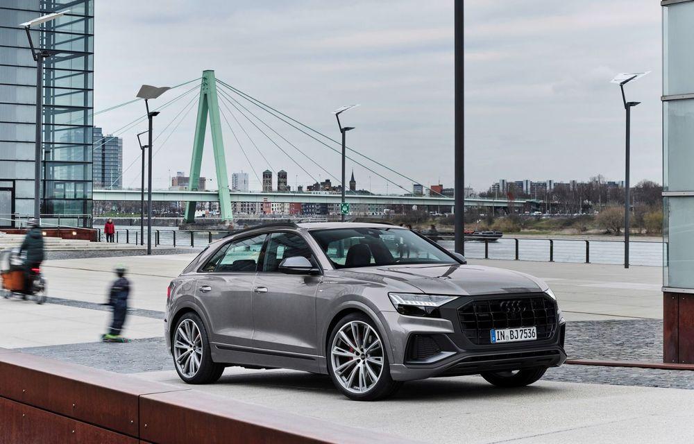 Îmbunătățiri pentru mai multe modele Audi. Q7 și Q8 au primit pachetul Competiton Plus - Poza 3