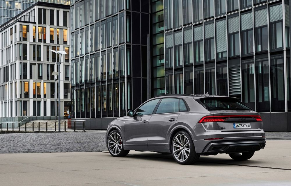Îmbunătățiri pentru mai multe modele Audi. Q7 și Q8 au primit pachetul Competiton Plus - Poza 5