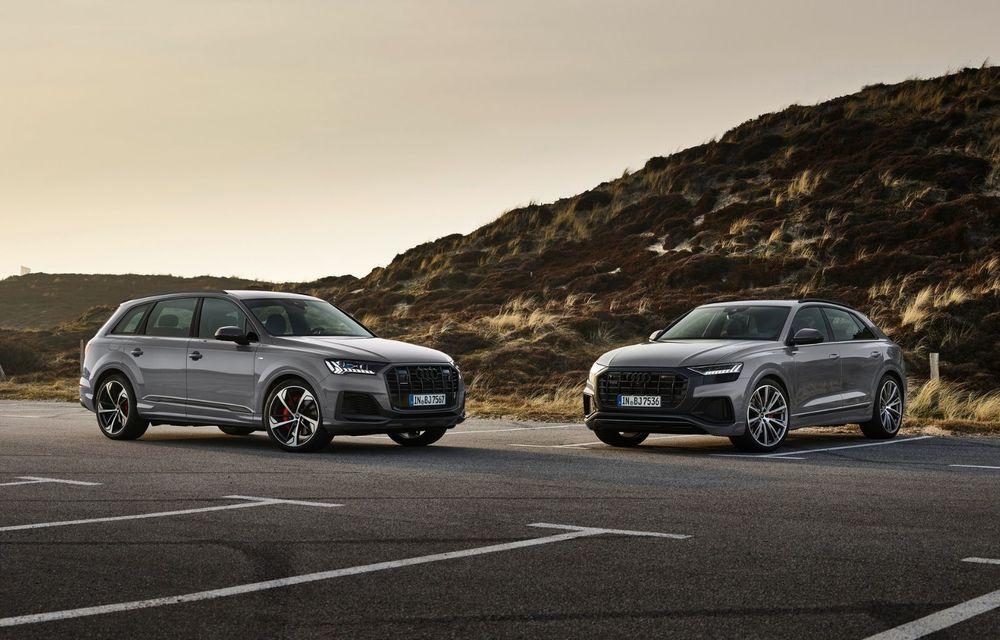 Îmbunătățiri pentru mai multe modele Audi. Q7 și Q8 au primit pachetul Competiton Plus - Poza 2