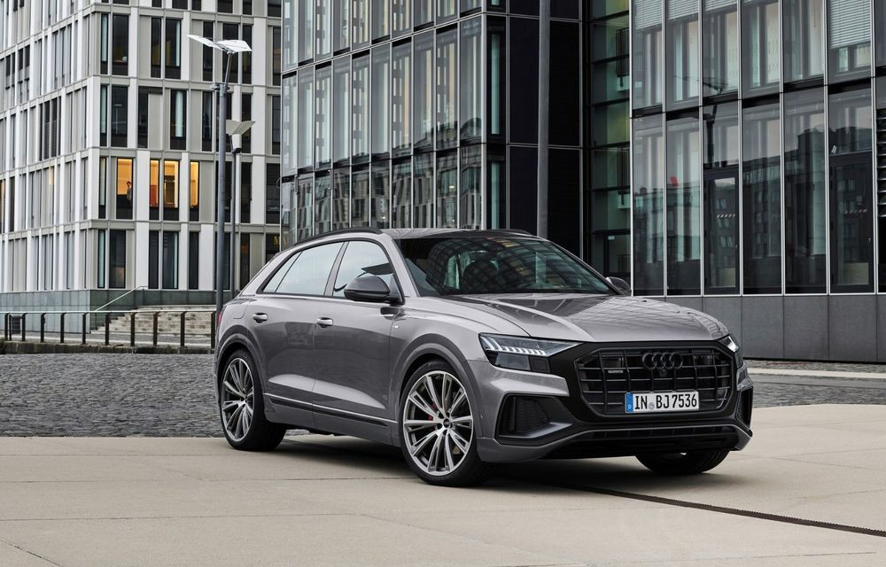 Îmbunătățiri pentru mai multe modele Audi. Q7 și Q8 au primit pachetul Competiton Plus - Poza 1