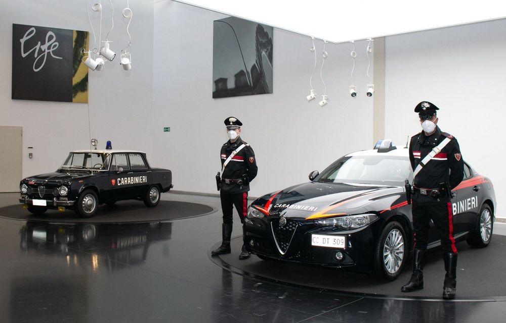 Italia: Alfa Romeo va livra 1.770 de exemplare Giulia către Carabinieri - Poza 1