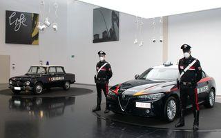 Italia: Alfa Romeo va livra 1.770 de exemplare Giulia către Carabinieri