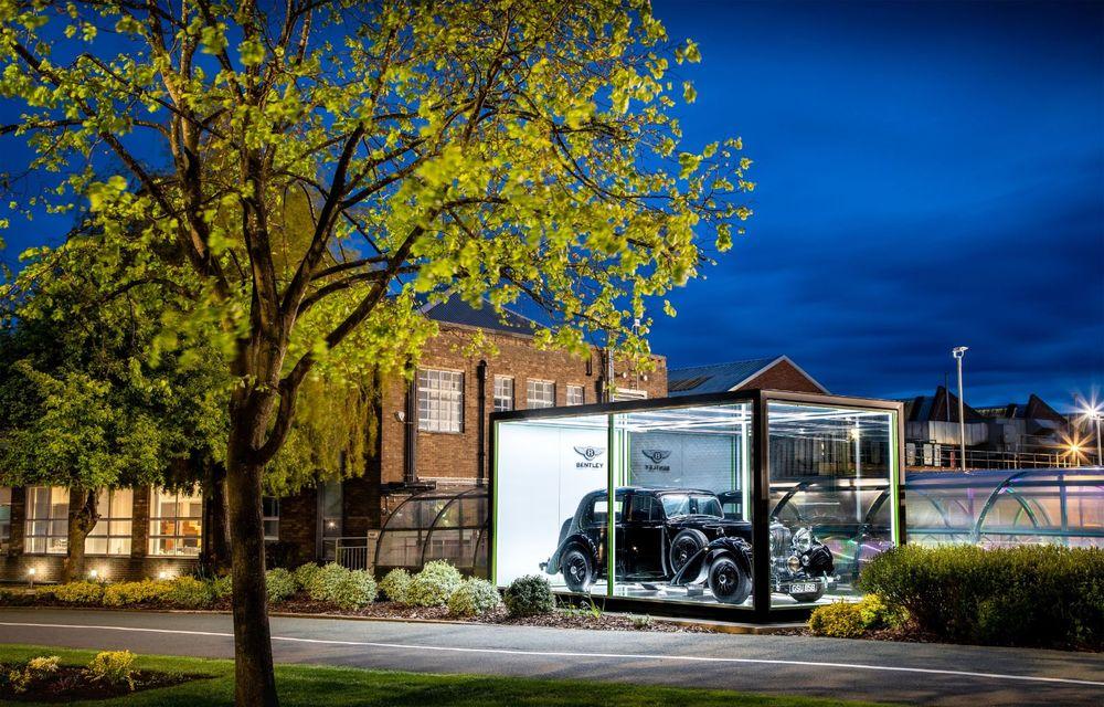 Bentley sărbătorește 75 de ani de la producția primului său model la Crewe - Poza 2