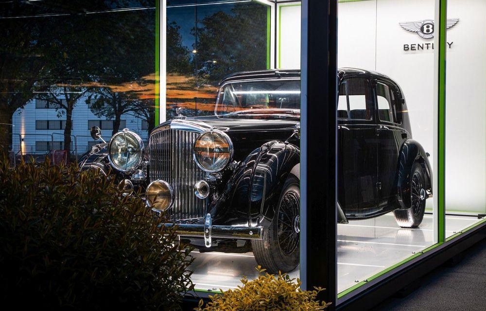 Bentley sărbătorește 75 de ani de la producția primului său model la Crewe - Poza 1