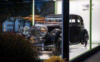 Bentley sărbătorește 75 de ani de la producția primului său model la Crewe