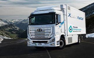 Europa are nevoie de 1.000 de stații pentru alimentarea cu hidrogen a camioanelor, până în 2030