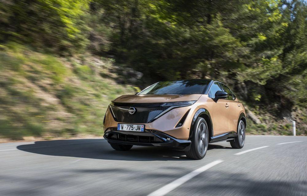 SUV-ul electric Nissan Ariya și-a făcut prima apariție publică pe circuitul stradal de la Monaco - Poza 9
