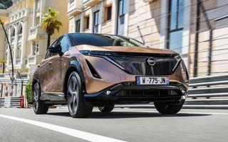 SUV-ul electric Nissan Ariya și-a făcut prima apariție publică pe circuitul stradal de la Monaco