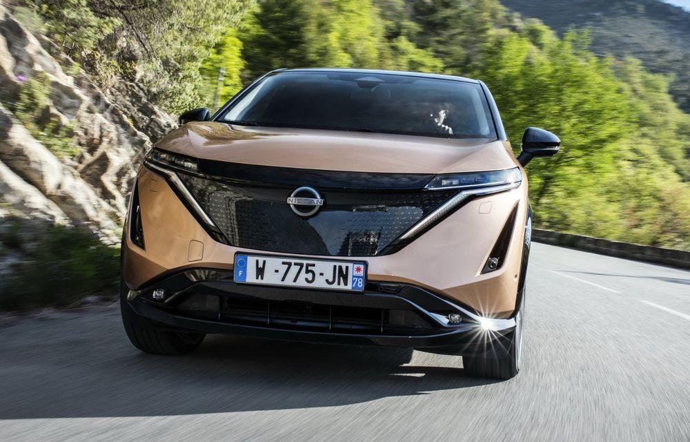 SUV-ul electric Nissan Ariya și-a făcut prima apariție publică pe circuitul stradal de la Monaco - Poza 10