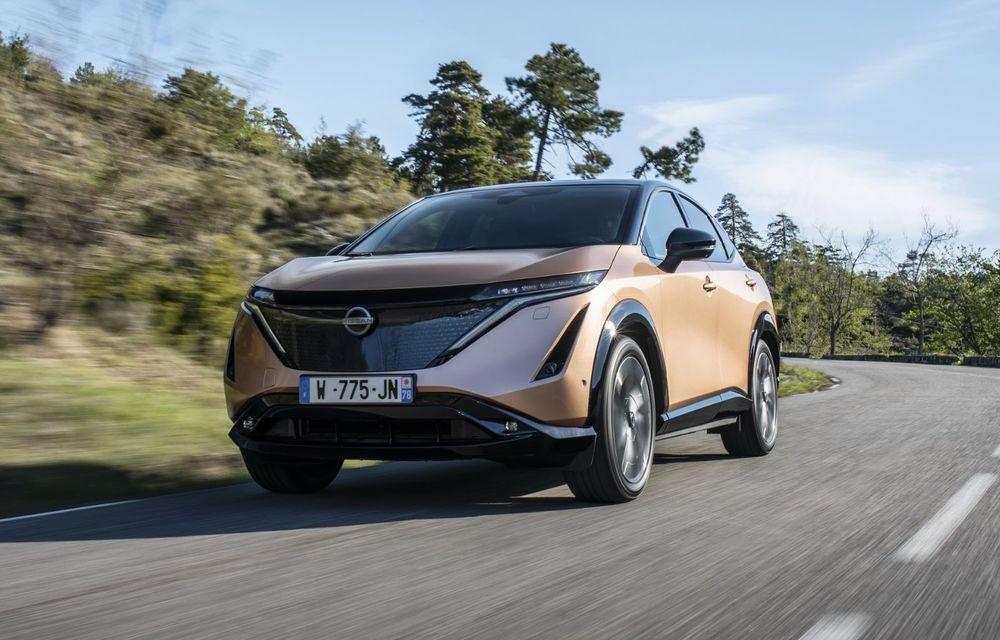 SUV-ul electric Nissan Ariya și-a făcut prima apariție publică pe circuitul stradal de la Monaco - Poza 8