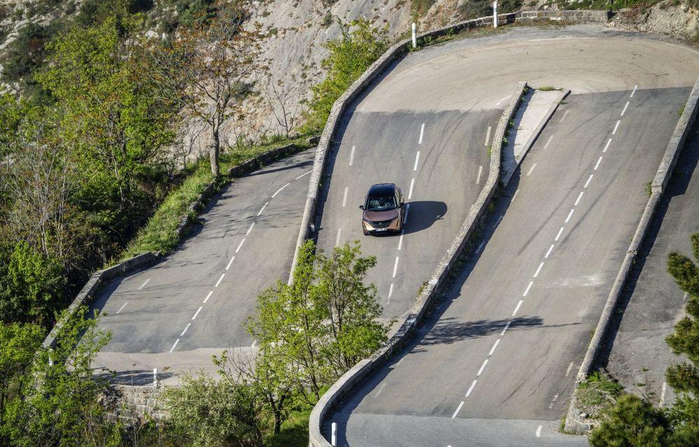 SUV-ul electric Nissan Ariya și-a făcut prima apariție publică pe circuitul stradal de la Monaco - Poza 11