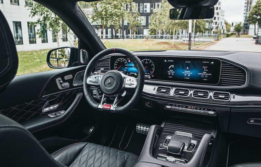 SUV cu performanțe de supercar. Mercedes-AMG GLS 63 modificat de Brabus are 800 CP - Poza 7