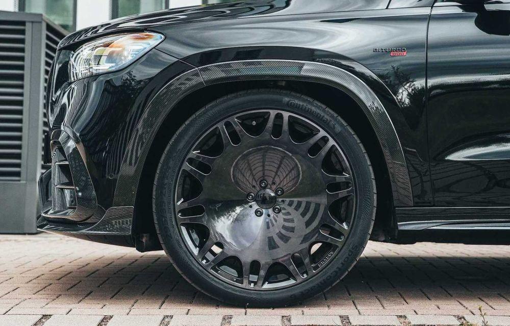 SUV cu performanțe de supercar. Mercedes-AMG GLS 63 modificat de Brabus are 800 CP - Poza 12