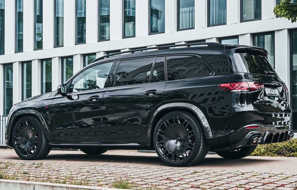 SUV cu performanțe de supercar. Mercedes-AMG GLS 63 modificat de Brabus are 800 CP - Poza 6