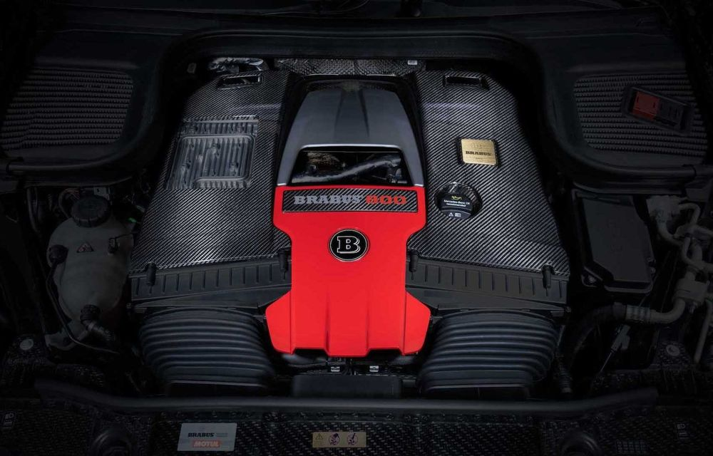 SUV cu performanțe de supercar. Mercedes-AMG GLS 63 modificat de Brabus are 800 CP - Poza 13