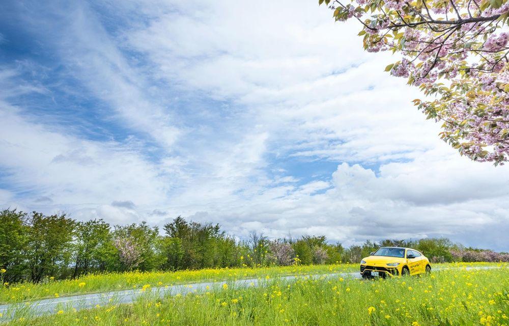 Lamborghini a traversat Japonia cu două Urus, pe un traseu de peste 6.500 de kilometri - Poza 14