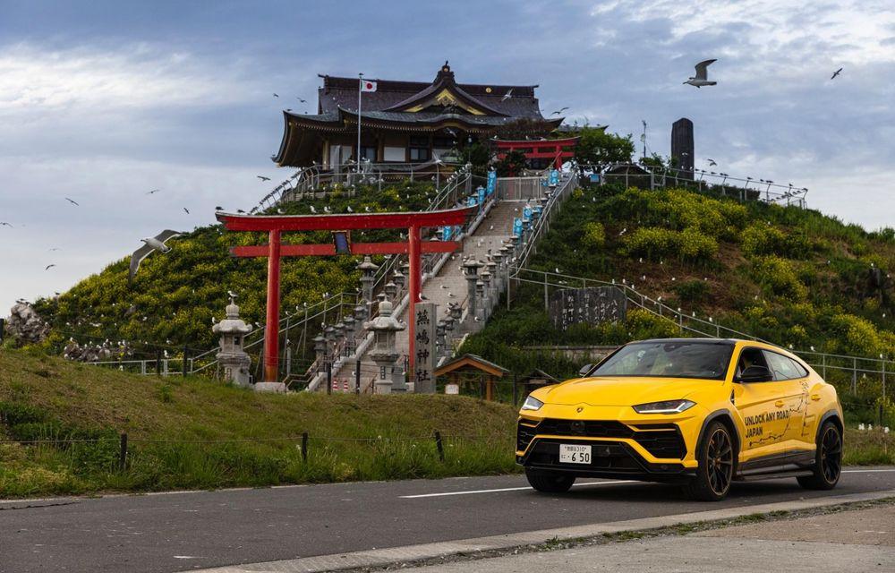 Lamborghini a traversat Japonia cu două Urus, pe un traseu de peste 6.500 de kilometri - Poza 23