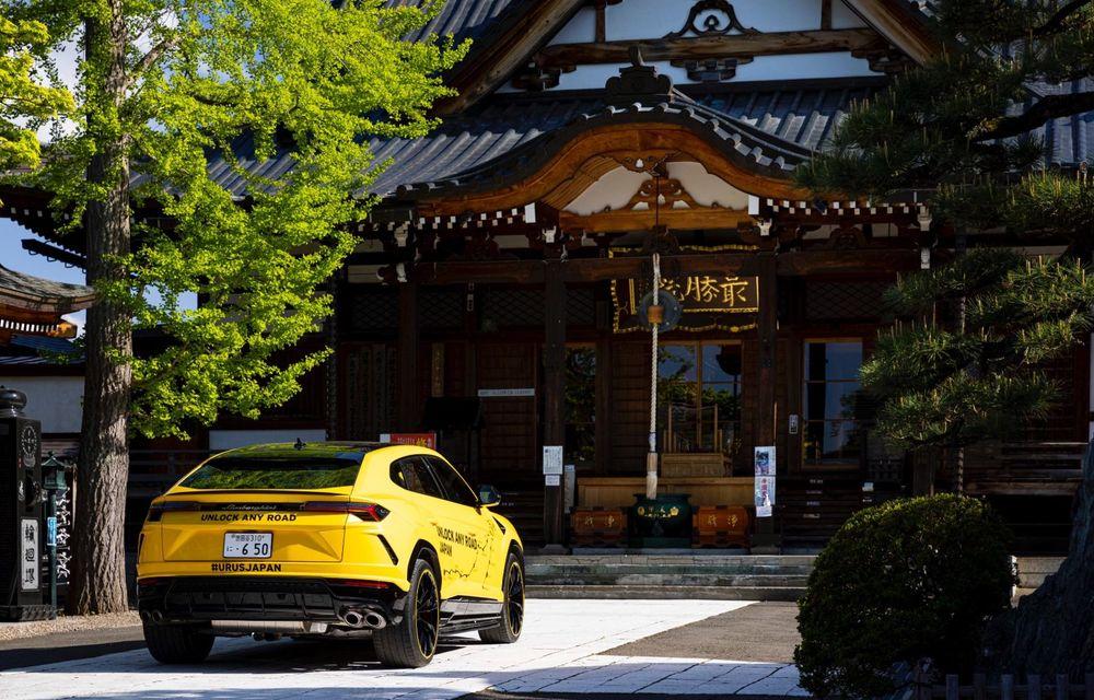 Lamborghini a traversat Japonia cu două Urus, pe un traseu de peste 6.500 de kilometri - Poza 24