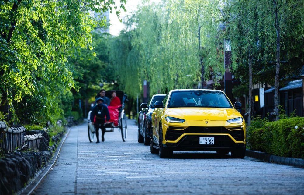Lamborghini a traversat Japonia cu două Urus, pe un traseu de peste 6.500 de kilometri - Poza 8