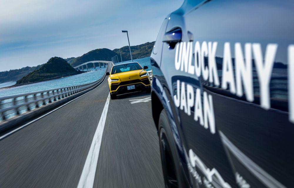 Lamborghini a traversat Japonia cu două Urus, pe un traseu de peste 6.500 de kilometri - Poza 2