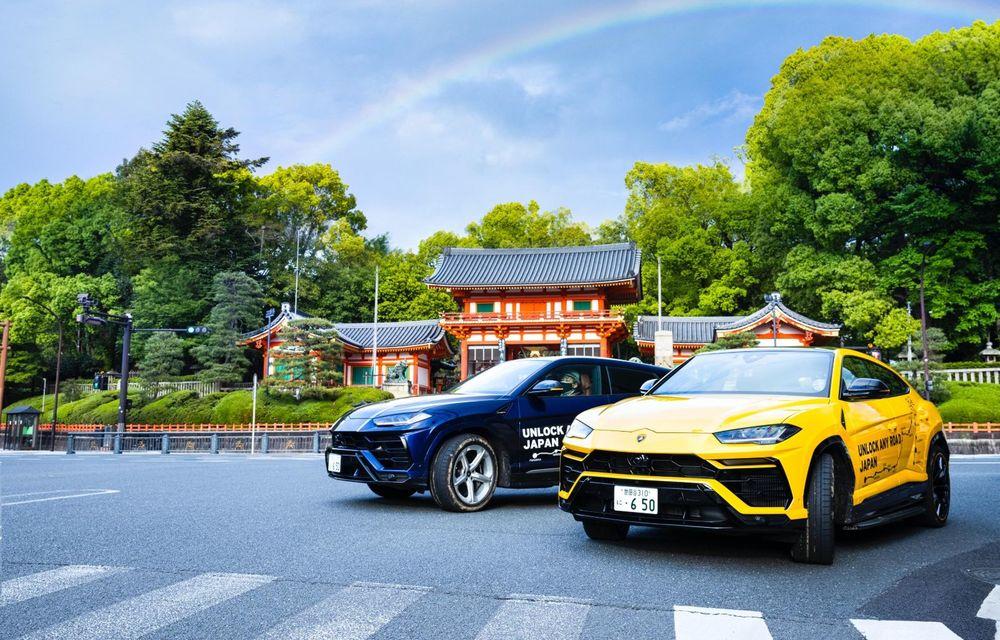 Lamborghini a traversat Japonia cu două Urus, pe un traseu de peste 6.500 de kilometri - Poza 7