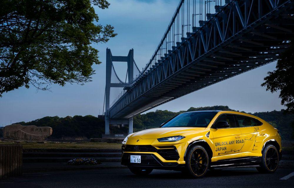 Lamborghini a traversat Japonia cu două Urus, pe un traseu de peste 6.500 de kilometri - Poza 27