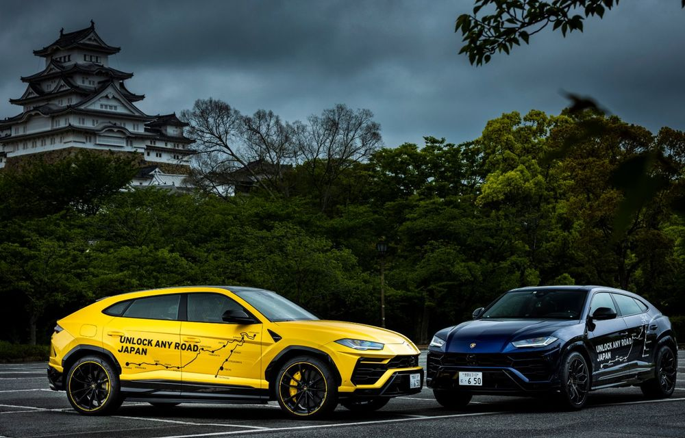 Lamborghini a traversat Japonia cu două Urus, pe un traseu de peste 6.500 de kilometri - Poza 31