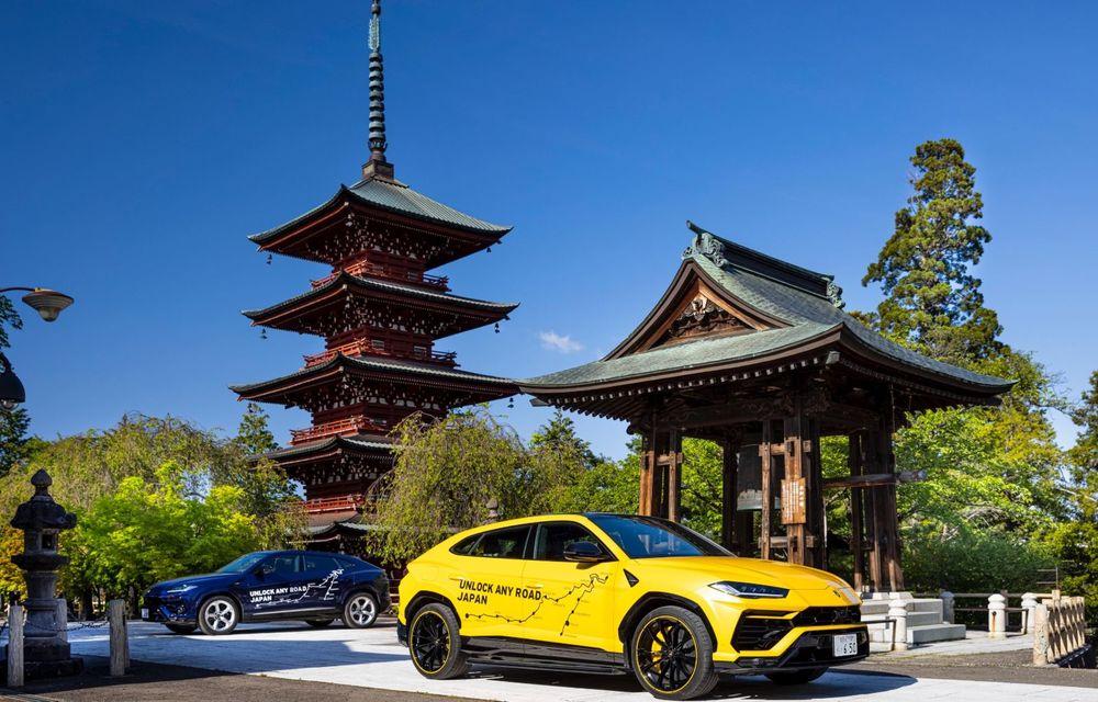 Lamborghini a traversat Japonia cu două Urus, pe un traseu de peste 6.500 de kilometri - Poza 1