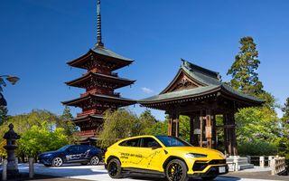 Lamborghini a traversat Japonia cu două Urus, pe un traseu de peste 6.500 de kilometri