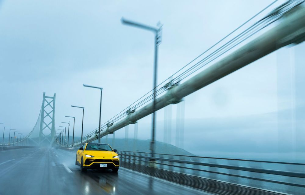 Lamborghini a traversat Japonia cu două Urus, pe un traseu de peste 6.500 de kilometri - Poza 4