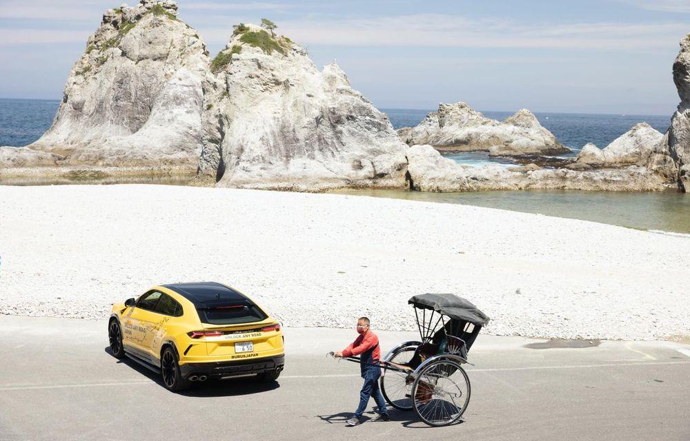Lamborghini a traversat Japonia cu două Urus, pe un traseu de peste 6.500 de kilometri - Poza 18