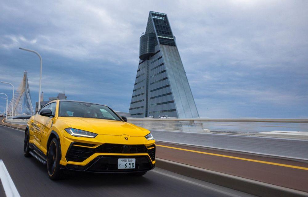 Lamborghini a traversat Japonia cu două Urus, pe un traseu de peste 6.500 de kilometri - Poza 26