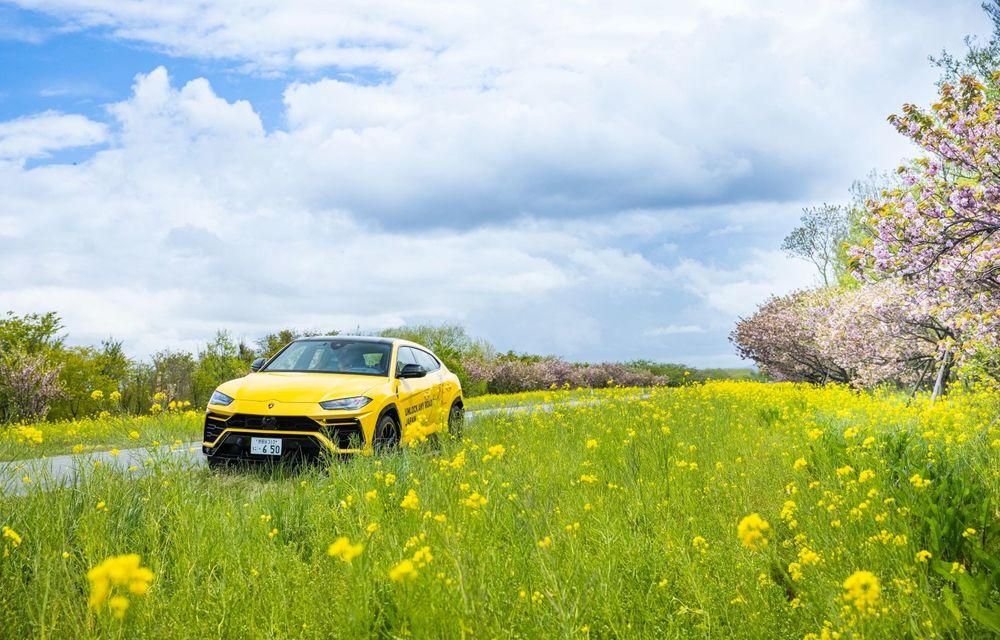 Lamborghini a traversat Japonia cu două Urus, pe un traseu de peste 6.500 de kilometri - Poza 13